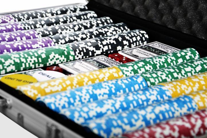 Póker készlet, 1000 db-os zseton – ULTIMATE
