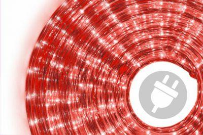 Fénykábel 20 m - piros, 720 mikro izzó