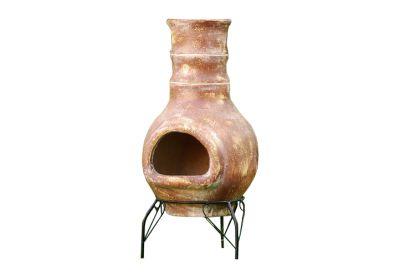 TERA Kerti terrakotta kemence 80 cm