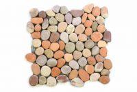 Mozaik GARTH burkolat - folyami kavics 1 m2