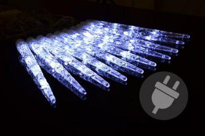 Karácsonyi jégcsapok NEXOS 40x LED - hideg fehér
