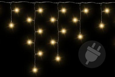 Karácsonyi fényfüggöny 144 LED meleg fehér - 5 m
