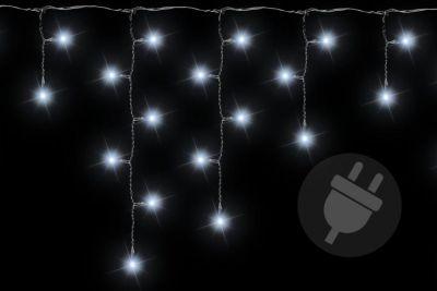 Karácsonyi fényfüggöny 144 LED hideg  fehér - 5 m