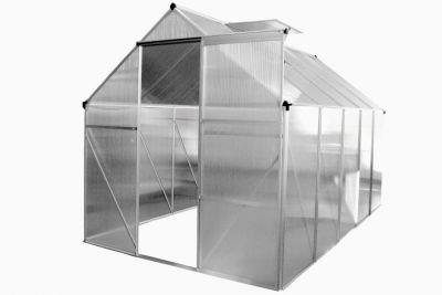 Üvegház Garth 250 cm x 190 cm x 195 cm x 4 mm + automatikus ablaknyitó