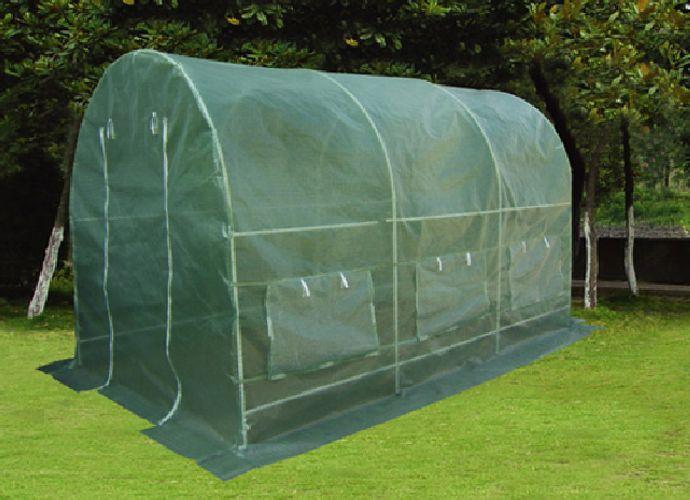 Gardenay átlátszó fóliasátor 190 x 200 x 450 cm