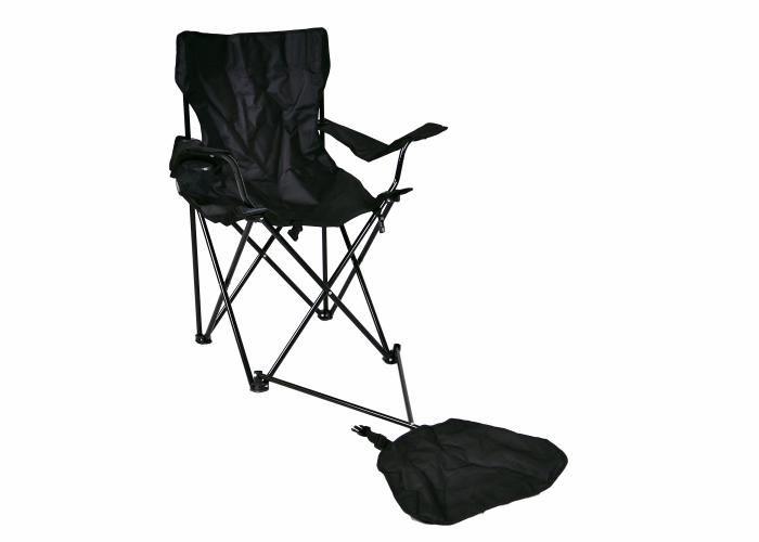 Összecsukható szék karfával és lábtámasszal Garth
