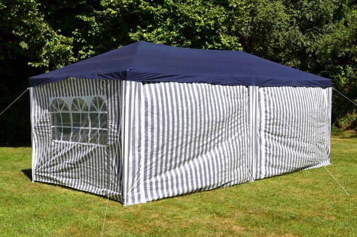 Kerti parti sátor GARTHEN – 3 x 6 m, kék