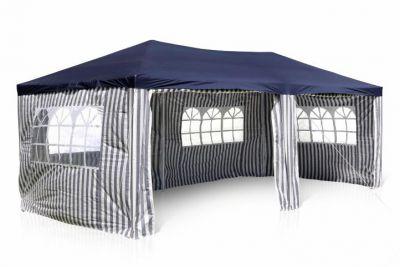 Kerti sátor pavilon GARTHEN 3 x 6 m - kék