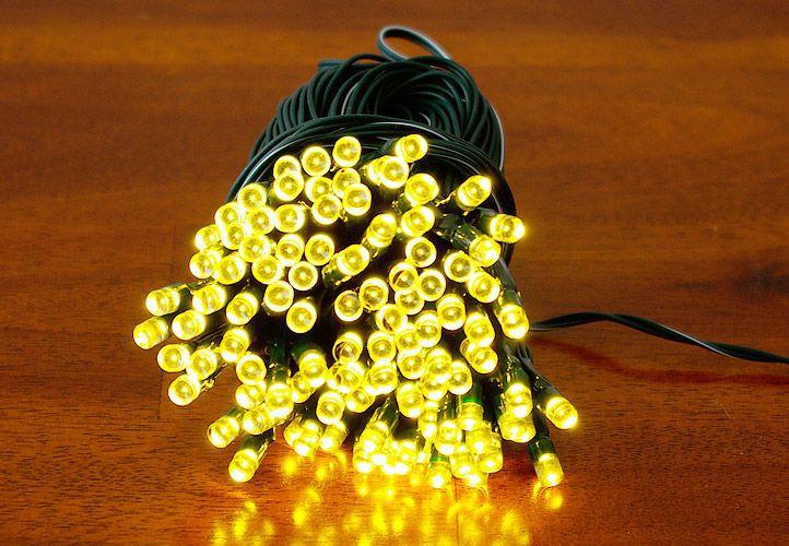 Kerti fényfüzér Garth – 100 x LED dióda meleg fehér