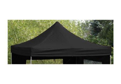 PROFI póttető kerti összecsukható sátorhoz 3 x 3 m - fekete