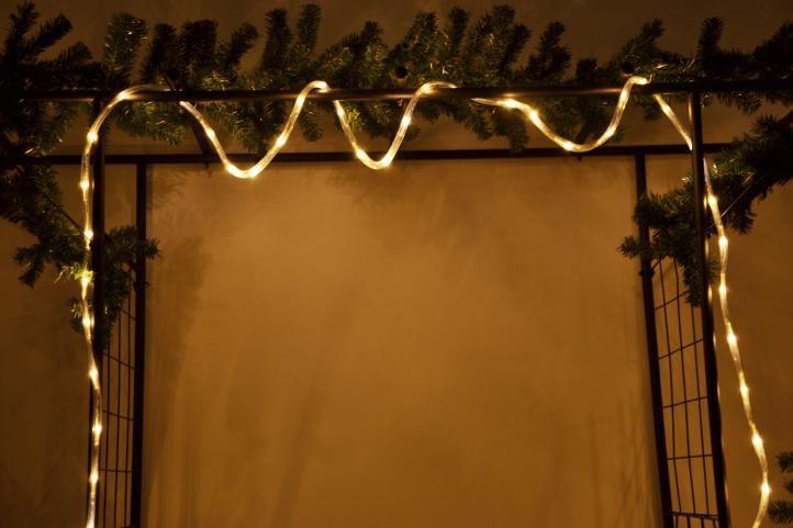 diLED fénykábel - 40 LED meleg fehér