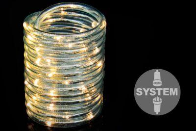 diLED fénykábel - 60 LED meleg fehér