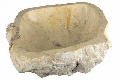 DIVERO Mosdókagyló természetes kőből - TORTONA