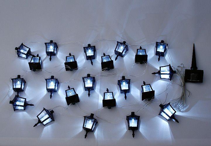 Szabadtéri szoláris LED megvilágítás Garth - lámpás 24 LED dióda