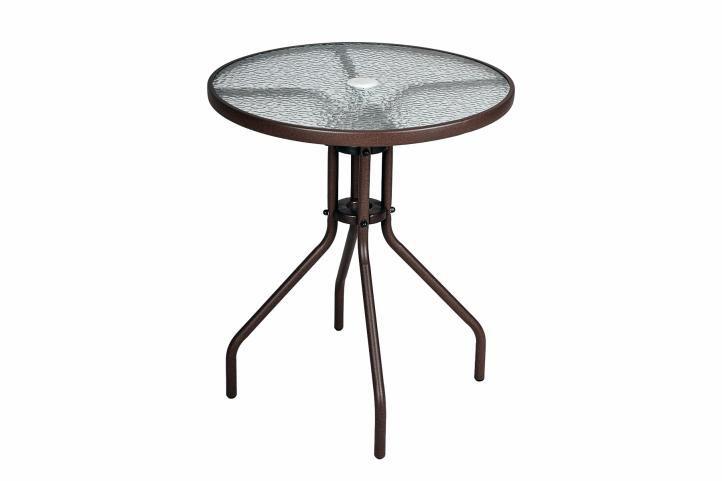 Kerti rattan bútor készlet GARTH - barna