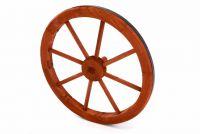 Fa kerék Garth, stílusos, rusztikus dekoráció - 45 cm