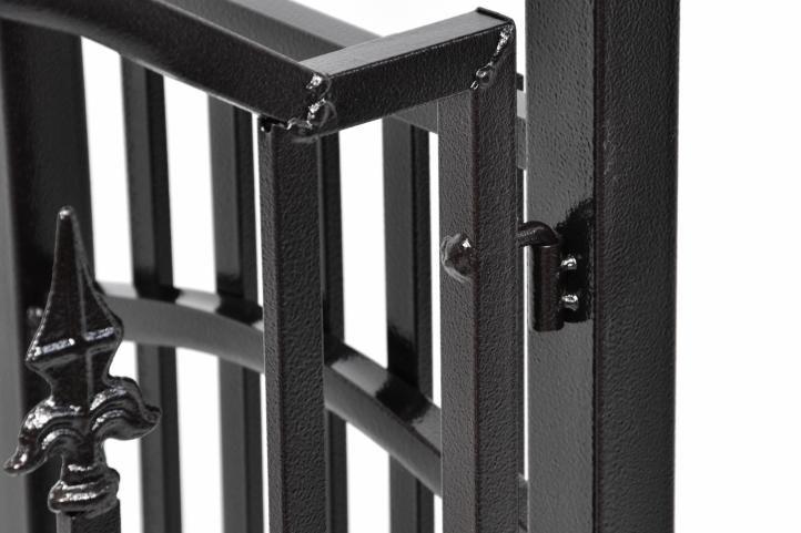 Kerti boltív kapu Garth ajtókkal