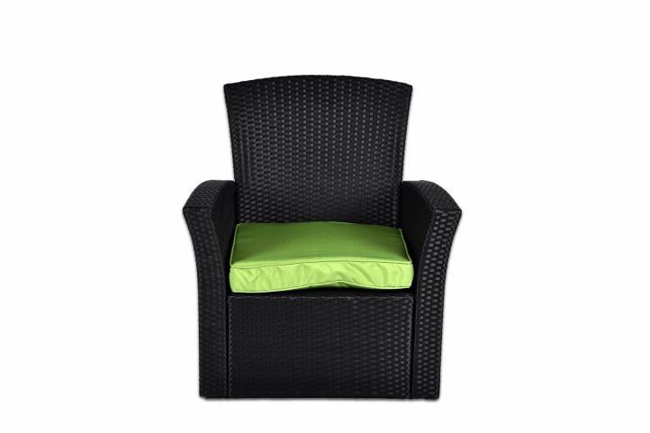 Kerti készlet GARTH - fekete/zöld