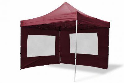 Összecsukható kerti sátor PROFI 3 x 3 m - bordó