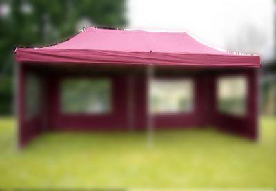 Tartalék tető parti sátorhoz - 3 x 6 m - bordó