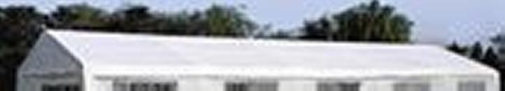 Tartalék tető parti sátorhoz - 5 x 10 m - fehér