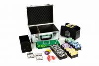 Póker bőrönd DELUXE 300 lézer zseton + tartozék