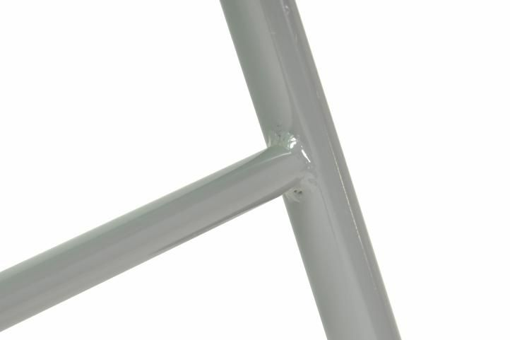 Alumínium összecsukható szék készlet Garth- zöld, 2 db