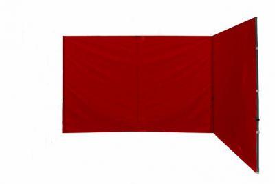 Két oldalfal PROFI kerti sátorhoz 3 x 3 m - piros