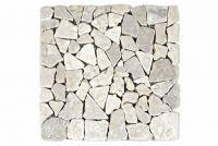 Márvány mozaik Garth - krém, 1 x háló