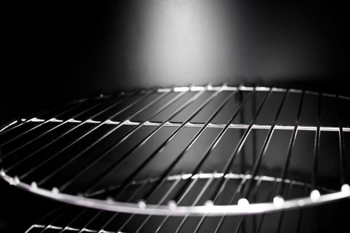 Kerti grill XXL mozdony külön füstőlővel