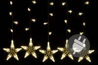 Karácsonyi fényfüzér NEXOS 10,6m/200x LED - meleg fehér