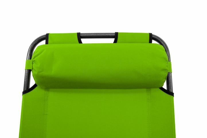 Kerti összecsukható nyugágy - zöld
