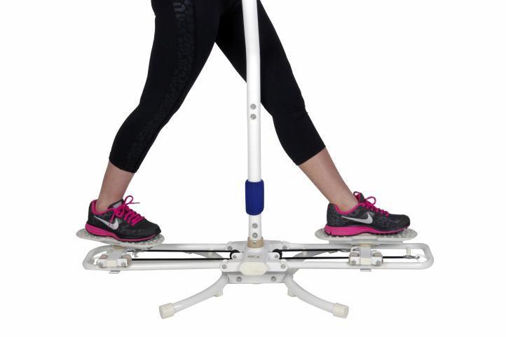 Összecsukható edzőgép – rotációs
