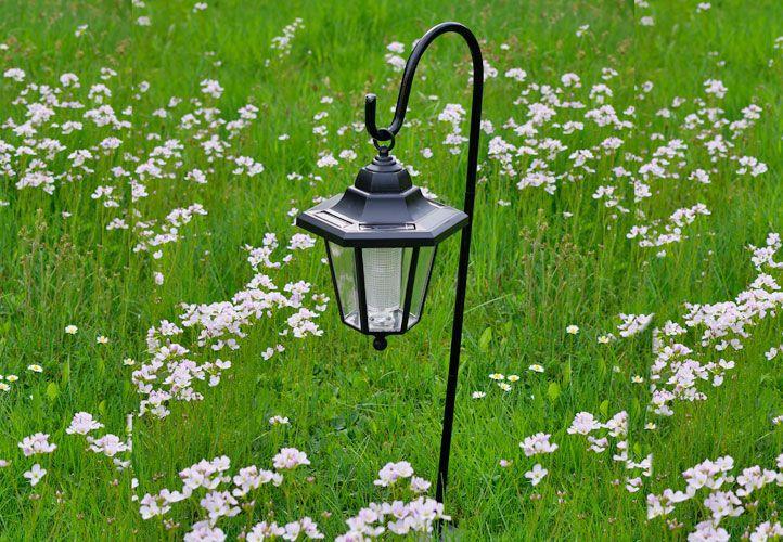 Kerti napelemes LED lámpás