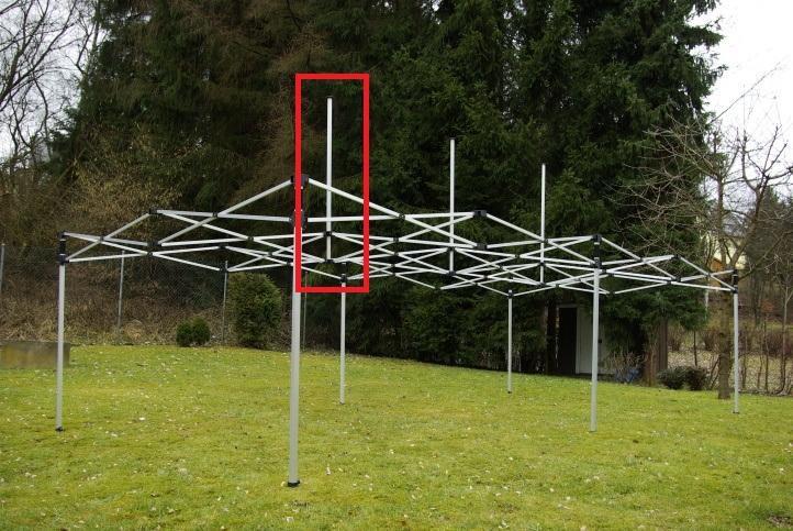 Tartalék alkatrész PROFI összecsukható sátorhoz