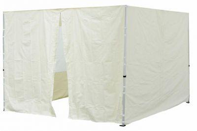Két oldalfal PROFI kerti sátorhoz 3 x 3 m - pezsgőszín