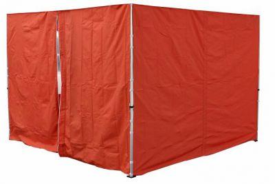 Két oldalfal PROFI kerti sátorhoz 3 x 3 m - terrakotta