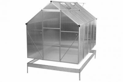 Garth üvegház 311 x 190 x 195 cm – 2 szellőző ablak és alsó keret
