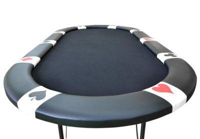 Póker asztal BLACK EDITION 10 pax - black