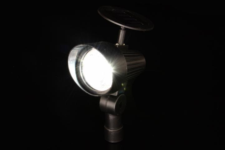 Kerti LED szoláris reflektor készlet Garth - 3 db
