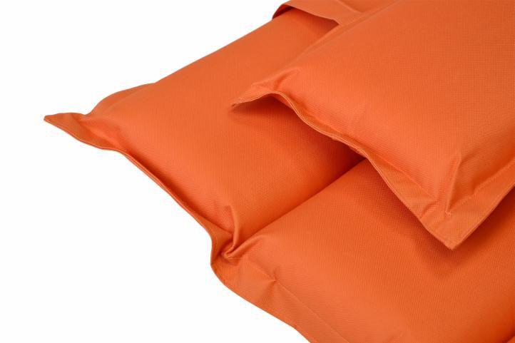 Párna nyugágyhoz Garthen - narancssárga