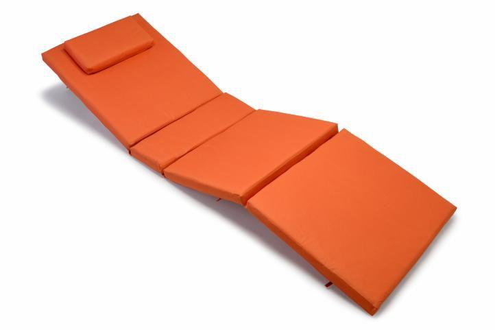 Párna nyugágyhoz Garth - narancssárga