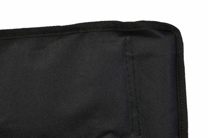 Kempingszék összecsukható DIVERO® - fekete