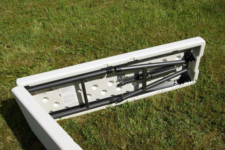 Kemping pad összecsukható GARTHEN - 183 cm