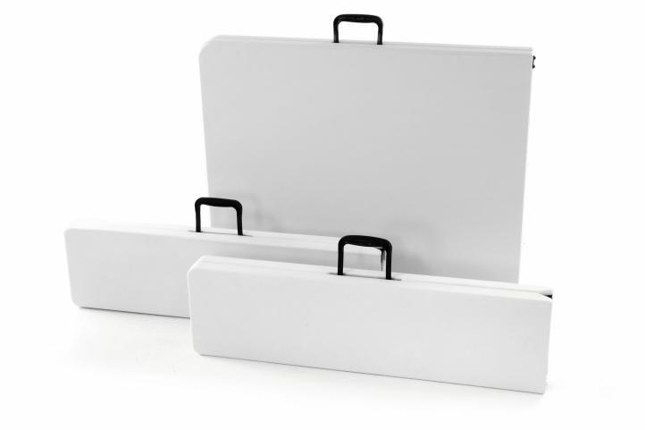 Kerti összecsukható készlet GARTH - fehér