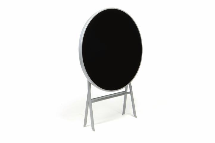 Kerti bútor készlet GARTHEN - fekete