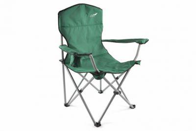Összecsukható kempingszék DIVERO XL – zöld