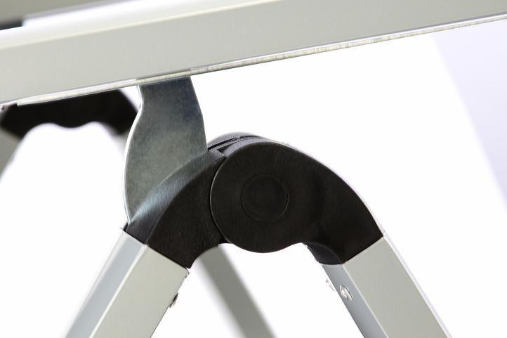 Kerti szék összecsukható GARTHEN XXL 2 db - antracit