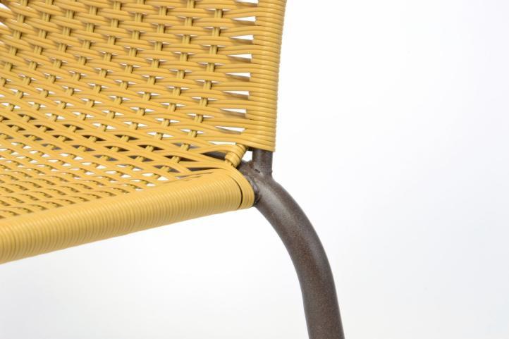 Kerti szett BISTRO 2 szék + asztal  bézs polirattan