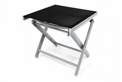 Kerti szék sámli GARTHEN - fekete